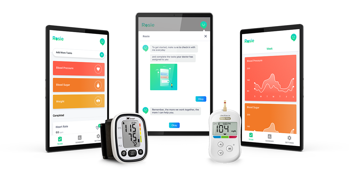 Image of personalized healthcare apps and products.